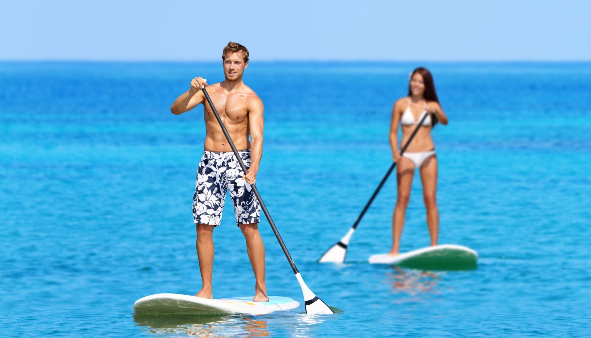 Stand up paddle individuel
