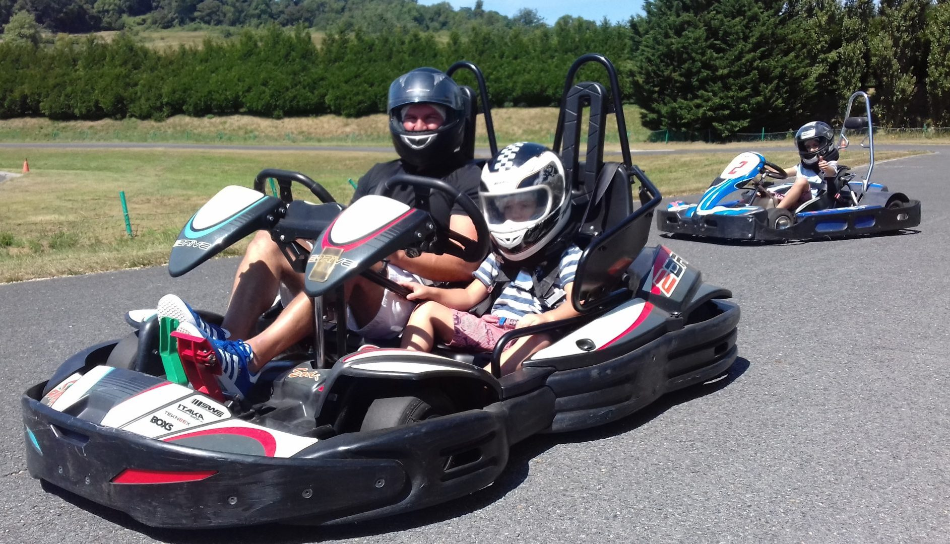 Karting biplace deauville